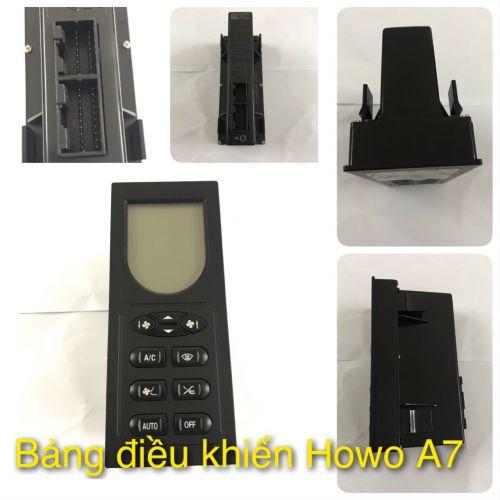 Bảng điều khiển Howo A7