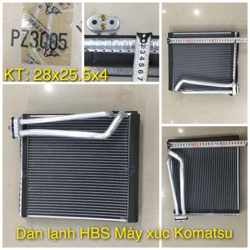 Dàn lạnh HBS - PZ3005 Máy xúc Komatsu