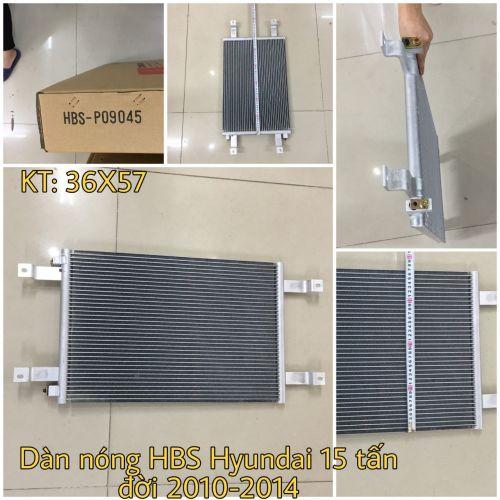 Dàn nóng HBS - P09045 Hyundai 15 tấn đời 2014