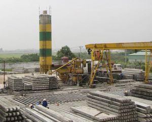 Sản xuất cọc bê tông vuông