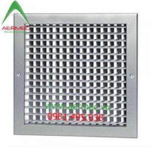 Miệng gió 2 lớp nan bầu dục có cơ cấu lật (DDG) - Double deflection grille