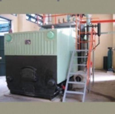 Lò hơi đốt than ống nước dạng E
