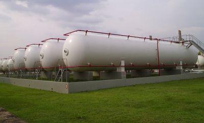 Bình chứa gas