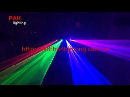 Đèn laser 4 cửa