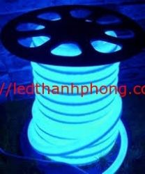 led dây neon xanh dương