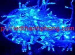 led nháy trang trí màu xanh dương