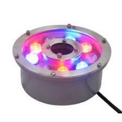 Đèn âm nước bánh xe 12w 7 màu