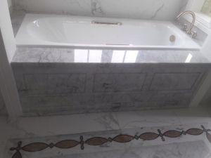 Bồn tắm đá trắng ý Gana