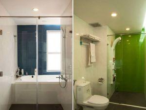 Nhà tắm ốp đá Trắng Ý