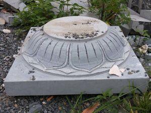 Đế cột đá 2