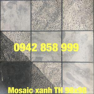 Đá dán xanh TH 98x98 - Mosaic Xanh TH 98x98