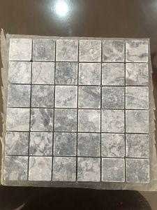 Đá vân đen rung 48x48