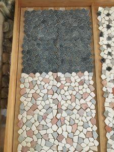 Đá dán rối đen, đá dán rối hồng+trắng+xanh