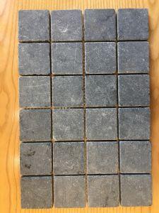 Đá dán Square 48x48 đen rung