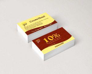 Thiết kế và in voucher