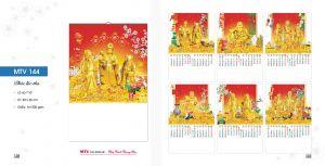 Mẫu lịch lò xo 7 tờ Tài Lộc Phong Thủy - Phúc Lộc Thọ