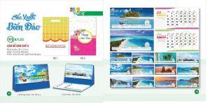 Mẫu lịch để bàn phong cảnh thế giới, Việt Nam, Hà Nội