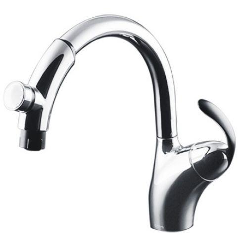 Vòi rửa bát cao cấp TOTO TKN34PBTN (Bấm rút dây)