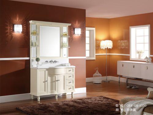 Bộ tủ chậu phòng tắm OFUND GX-1100