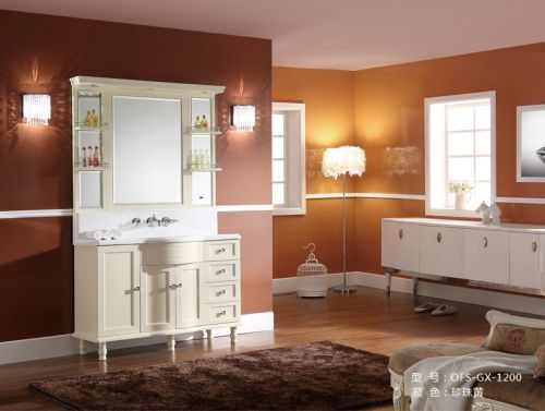 Bộ tủ chậu phòng tắm  OFUND GX-1200