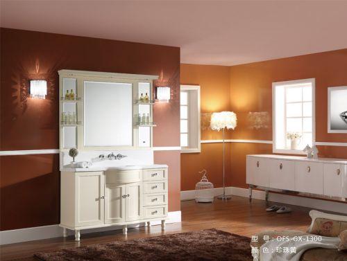 Bộ tủ chậu phòng tắm  OFUND GX-1300