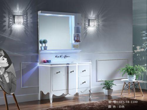 Bộ tủ chậu phòng tắm  OFUND FB-1100