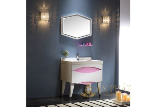 Bộ tủ chậu phòng  tắm OFUND ELY-800