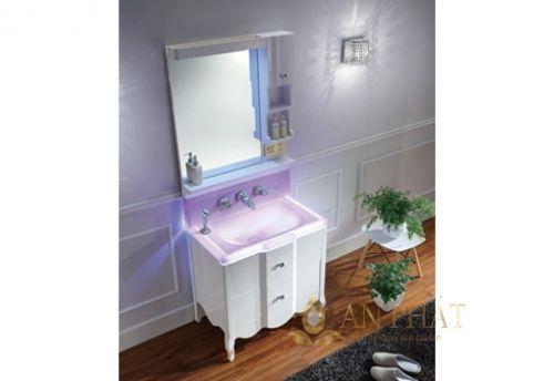 Bộ tủ chậu phòng tắm OFUND FB-800
