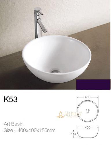 Chậu Sứ Mỹ Thuật StoneSicks K53