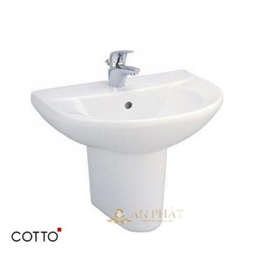 Chậu rửa treo tường COTTO C0141/C4241