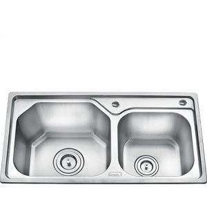 Chậu rửa bát inox Gorlde GD 5307 (82x43)