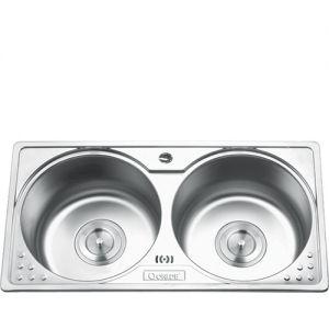 Chậu rửa bát inox Gorlde GD 5902 (83x44