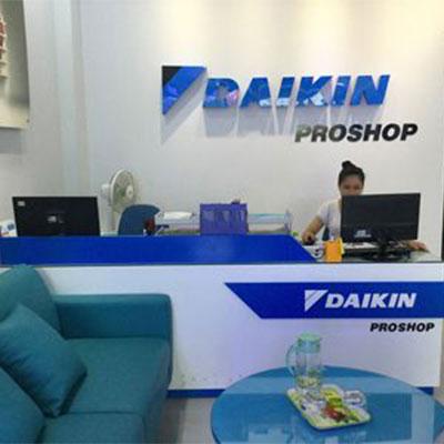 Đại lý bán buôn máy điều hòa Daikin