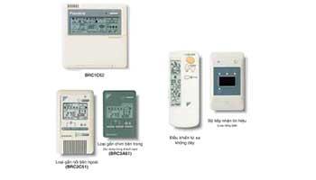 Hệ thống điều khiển riêng biệt cho dàn lạnh điều hòa trung tâm Daikin