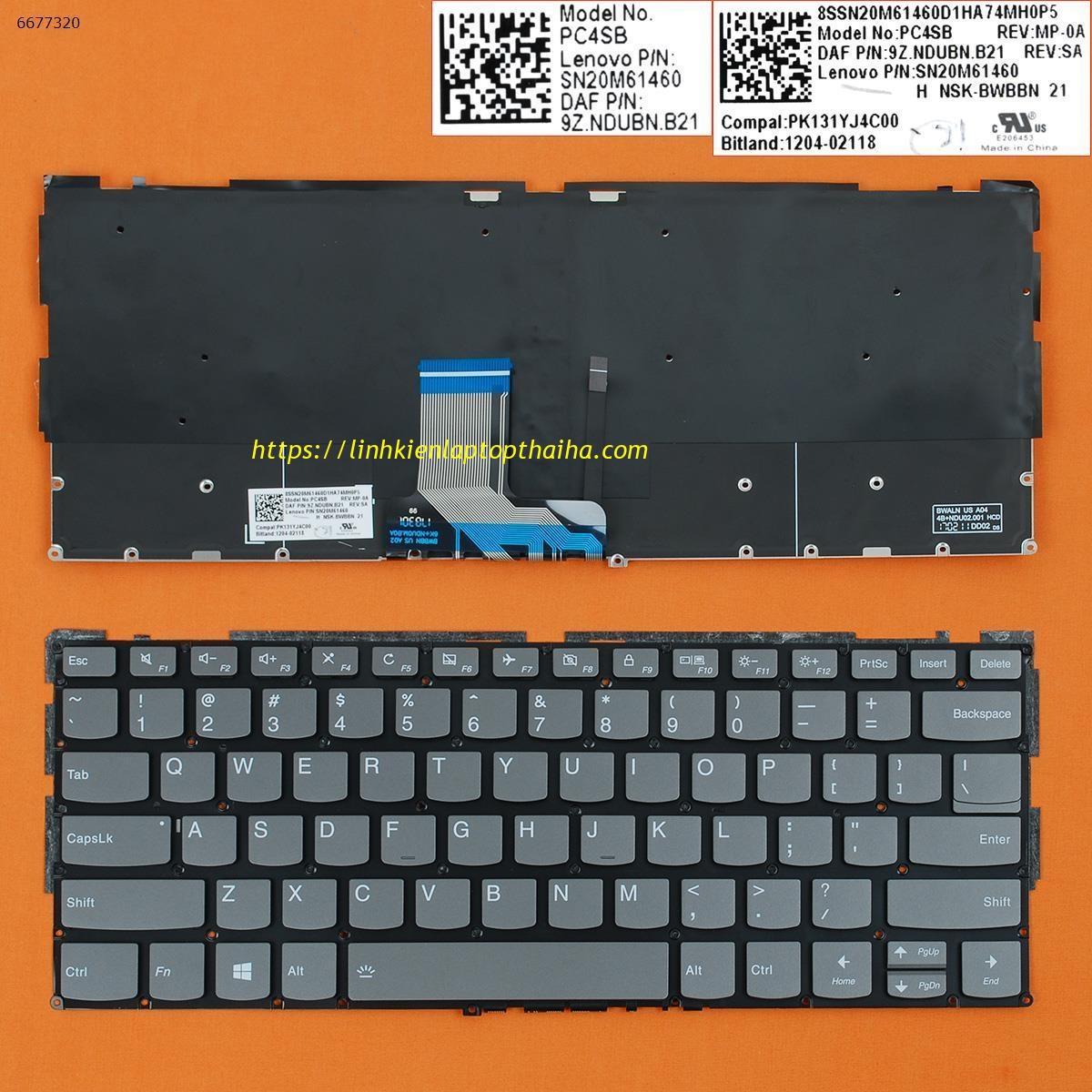 Báo giá thay Bàn Phím Laptop Lenovo IdeaPad 320S-13IKB chính hãng - tại Thái Hà