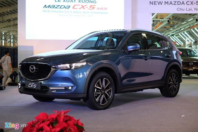 Giá xe Mazda CX-5 tăng nhẹ tháng 1/2018