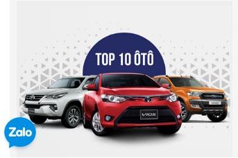 10 xe bán chạy nhất Việt Nam 2017: Toyota Vios nắm ngôi vua