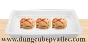 Khay sứ GN 1/1, Khay GN 1/1 bằng sứ, khay buffet chữ nhật bằng sứ, khay bup phe bang su, khay su hinh chu nhat