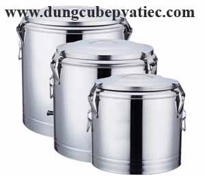 thùng inox giữ nhiệt 100 lít, bình inox giữ nhiệt 100, thung-inox-giu-nhiet-thuc-an, thung inox nap khoa, bình inox 2 lớp nắp khóa