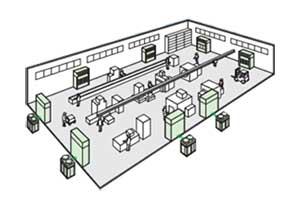 Điều hòa tủ đứng đặt sàn thổi trực tiếp FVGR10NV1/RUR10NY1