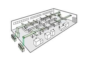 Điều hòa tủ đứng đặt sàn nối ống gió Daikin FVPGR13NY1