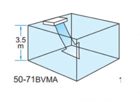 Điều hòa áp trần Daikin FHA50BVMV thích hợp cho trần cao