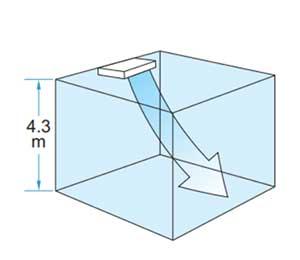 Điều hòa áp trần Daikin FHA100BVMV thích hợp với trần cao