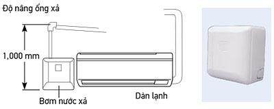 Bơm nước xả dàn lạnh treo tường FXAQ20PVE
