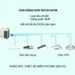 Điều hòa trung tâm Daikin VRV H RXYQ14AYM 14HP 2 chiều