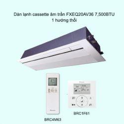 Dàn lạnh cassette âm trần điều hòa trung tâm Daikin VRV FXEQ20AV36 7,500BTU