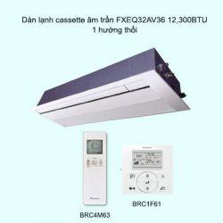 Dàn lạnh cassette âm trần điều hòa trung tâm Daikin VRV FXEQ40AV36 15,400BTU