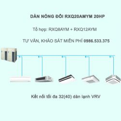 Điều hòa trung tâm Daikin VRV A RXQ20AMYM 20HP 1 chiều