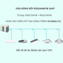 Điều hòa trung tâm Daikin VRV A RXQ24AMYM 24HP 1 chiều