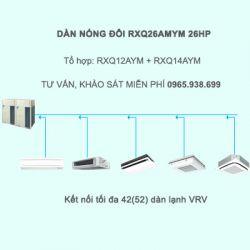 Điều hòa trung tâm Daikin VRV A RXQ26AMYM 26HP 1 chiều